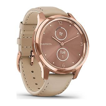 Garmin - Hybrid Watch - vivomove Luxe Rosegold-Beige - 010-02241-01