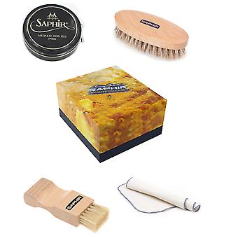Saphir Luxury Shoe Care Gift Box Wax - Available in 12 colours