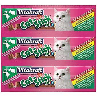 Vitakraft Cat-Sticks Mini Duck-Rabbit (Cats , Treats , Edible Sticks)