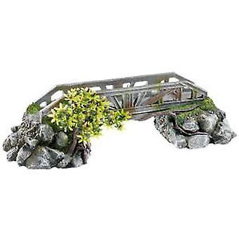 Classic For Pets Bridge with Plants 390mm (Rybki , Dekoracja , Dekoracja)