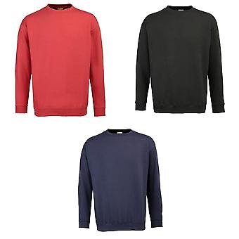 RTY Workwear Mens manchon incrustees Sweatshirt