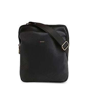 Carrera Jeans Original Heren Lente/Zomer Crossbody Bag Zwarte Kleur - 70363
