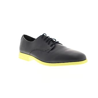 Camper Truman  Mens Black Leather Casual Lace Up Oxfords Shoes