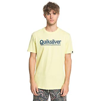 Quiksilver Men's T-Shirt ~ New Slang yellow