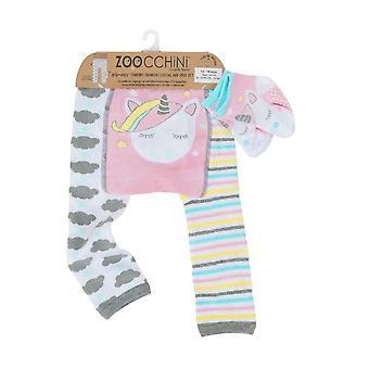 ZOOCCHINI Grip+Easy Comfort Crawler Legging + Sock Set