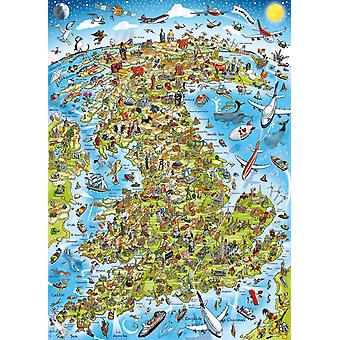 Gibsons Best Of British Jigsaw Puzzle (1000 pieces)