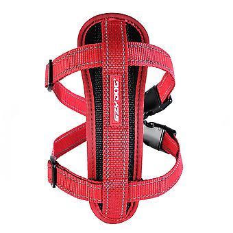 Ezydog Arnés Chest Plate Rojo (Honden , Halsbanden en Riemen , Tuigjes)