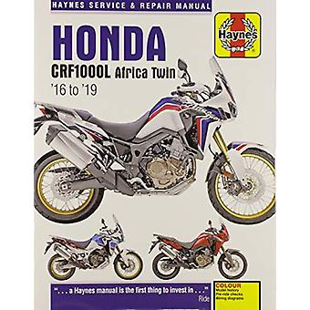 Honda CRF1000 Africa Twin (16-19) by Matthew Coombs - 9781785214349 B