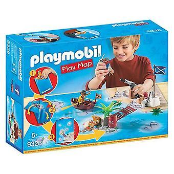 Playset Pirates Play Carte Playmobil 9328