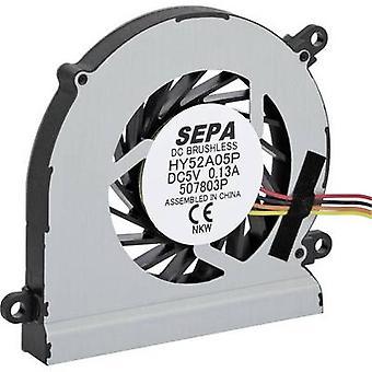 SEPA HY52A05PSE25AP00 Axial fan 5 V DC 4.5 m³/h (L x W x H) 52 x 52 x 8 mm