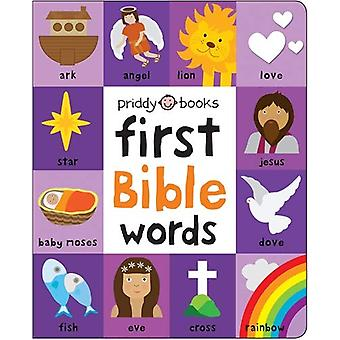 First 100 Bible Words by Roger Priddy - 9781838990060 Book