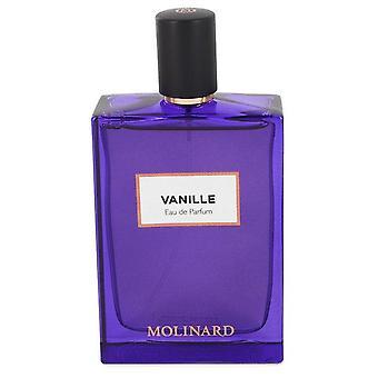 Molinard Vanille Eau De Parfum Spray (Unisex Tester) By Molinard 2.5 oz Eau De Parfum Spray