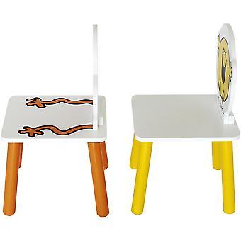 Kiddi stijl Mr mannen tafel met twee stoelen