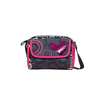 Desigual Bols_tamarillo - Schwarzes Mädchen Brieftasche (Negro) 5x12x19.5 cm (B x H T)