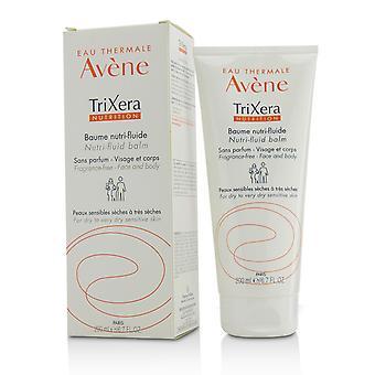 Tri xera nutrition nutri fluide visage & baume corporel pour la peau sèche à très sèche sensible 220261 200ml/6.7oz