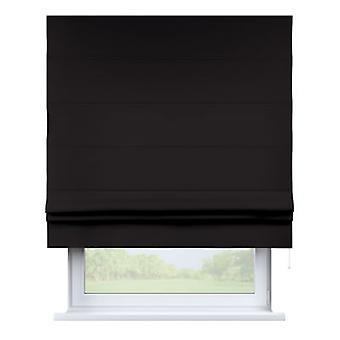 Raffrollo Padva, zwart, 80 x 170 cm, Cotton Panama, 702-09