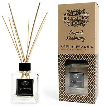 Sage & Rosemary Essential Oil Reed Diffuser 200ml