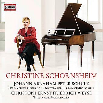 Schornsheim Plays Schulz & Wey [CD] USA import