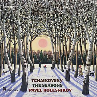 Tchaikovsky / Kolesnikov - Seasons Six Morceaux [CD] USA import