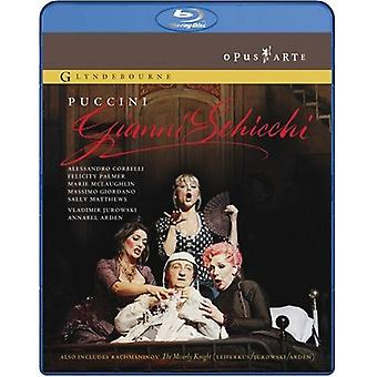 Gianni Schicchi: Miserly Knight [BLU-RAY] USA import