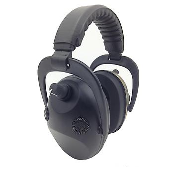 Black Active Hearing Protection Active Noise Reduction 4X Microphone