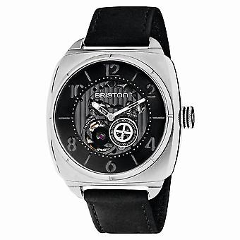 Briston 201042.S.SK.1.CH Streamliner Skeleton Black Strap Automatic Wristwatch
