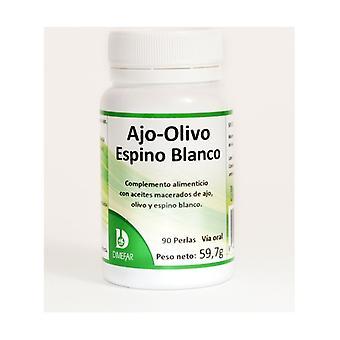 Knoflook olijf en meidoorn 90 softgels