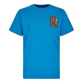 Weird Fish Men's 'Fish Fest' Artist T-Shirt Blue