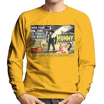 Hammer Horror Films Mummy Torn From The Tomb Men's Sweatshirt