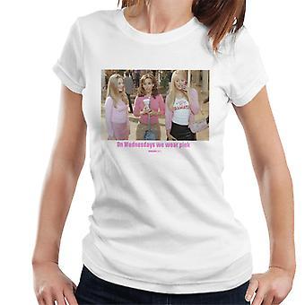 Mean Girls Mall On Wednesdays We Wear Pink Women's T-Shirt