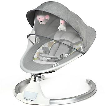 Electric Baby Bouncer Swing Chair Cradle Rocking Seat Infant Cradling Portable