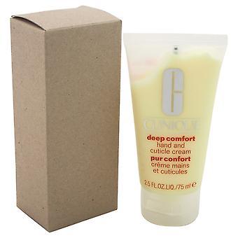 Clinique Djup komfort Hand & Nagelband Cream 75ml