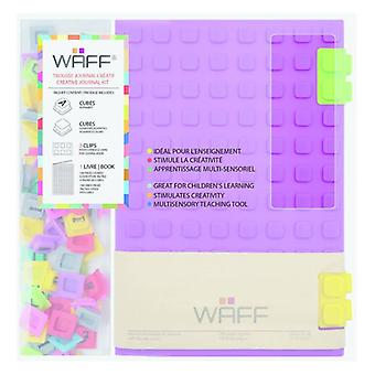 Aladine WAFF Creative Journal Kit A5 Purple
