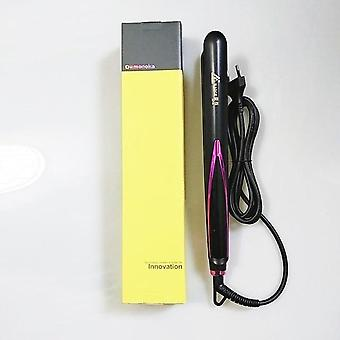 Professional Hair Straightener Curler - Flat Iron Negative Ion Straightening Wand Ionic Curling