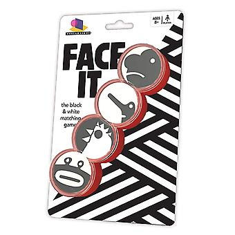 Games - Ceaco Brainwright - Face It The Black & White Matching 8013d