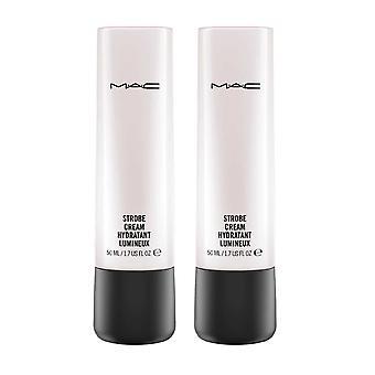 Mac Strobe Creme Hydratant Lumineux 50ml x 2 (entspricht 100ml)