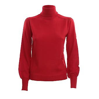 Pinko 1g157qy6dyr43 Frauen's rote Wolle Pullover