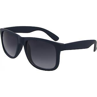 Sonnenbrille Unisex  Wayfarer Kat. 3 matt blau/grau (8240-B)