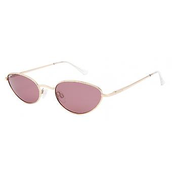 Sunglasses Women's Abby Polarizes Gold with Pink Lens (pabb02/P)