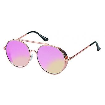Sunglasses Unisex Cat.3 Pink Lens (19-085)