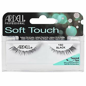 Ardell Soft Touch Ultra Lightweight Lashes - 150 Black - Flexible Lash Band
