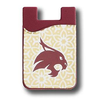 Texas state Bobcats NCAA Módní mobilní telefon Peněženka