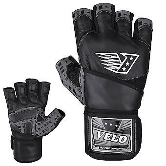 VELO G1 Lederen gewichtheffen handschoenen