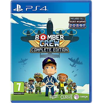 Jeu DE Bomber Crew Complete Edition PS4