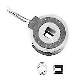 Cequent 5113 Tekonsha Magnet Kit - White Wires Round