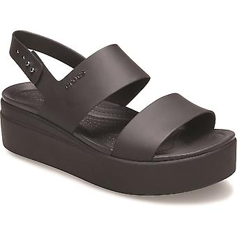 Crocs Womens Brooklyn Low Wedged Comfortable Sandals