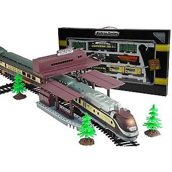 Fenfa elektromos vonat készlet 5 kocsitartozékok