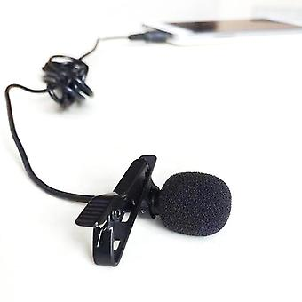 Mini Microphone Amplifier Mic Portable- 3.5mm Jack Microphone   (black)