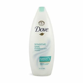 Dove Body Wash Sensitive Skin Liquid 12 oz. Bottle Unscented, 1 Each
