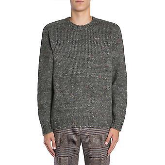 Etro 1m5009747506 Men's Green Wool Sweater
